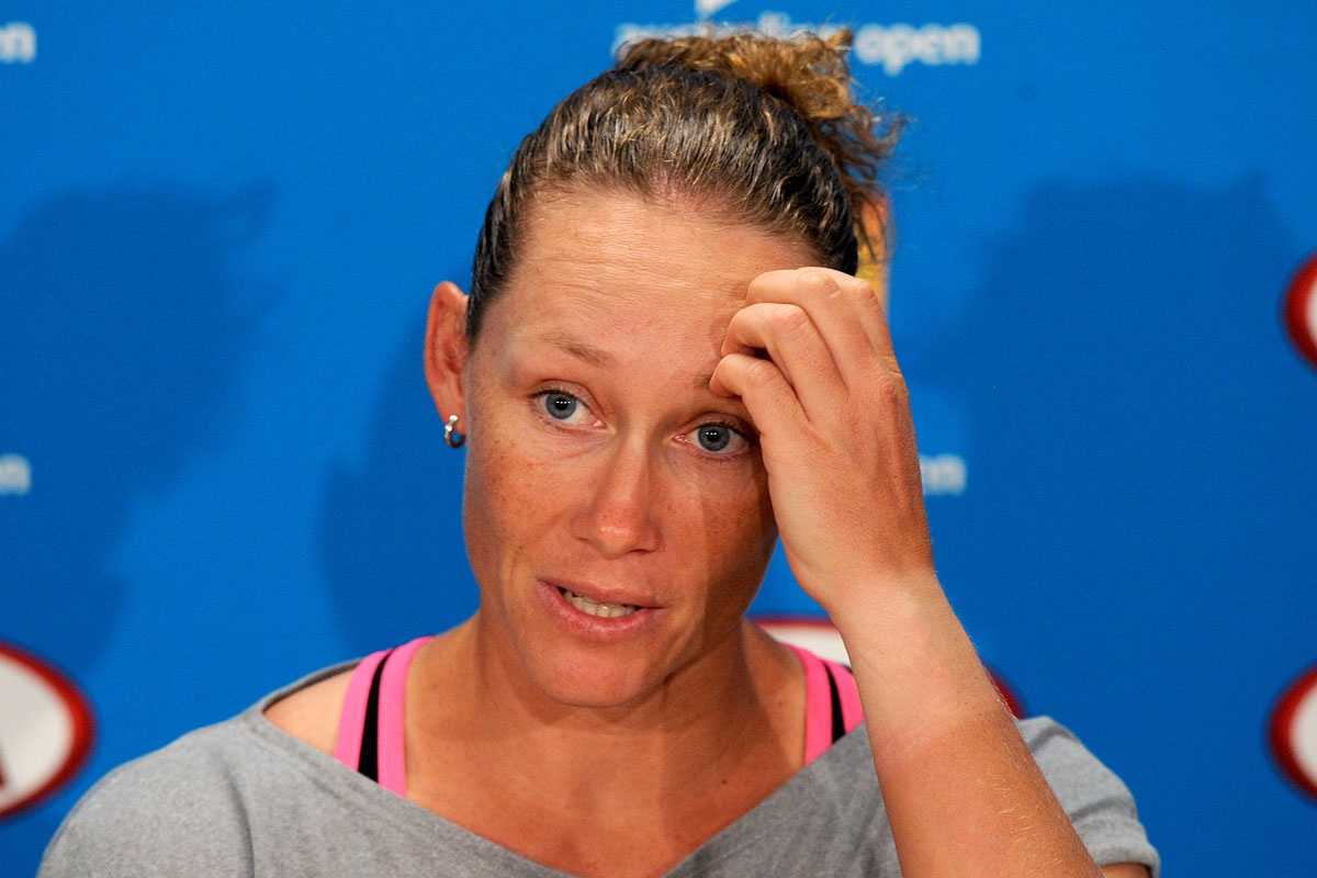 Samantha Stosur has a treacherous Australian Open draw.
