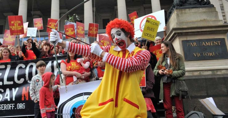Tecoma McDonalds