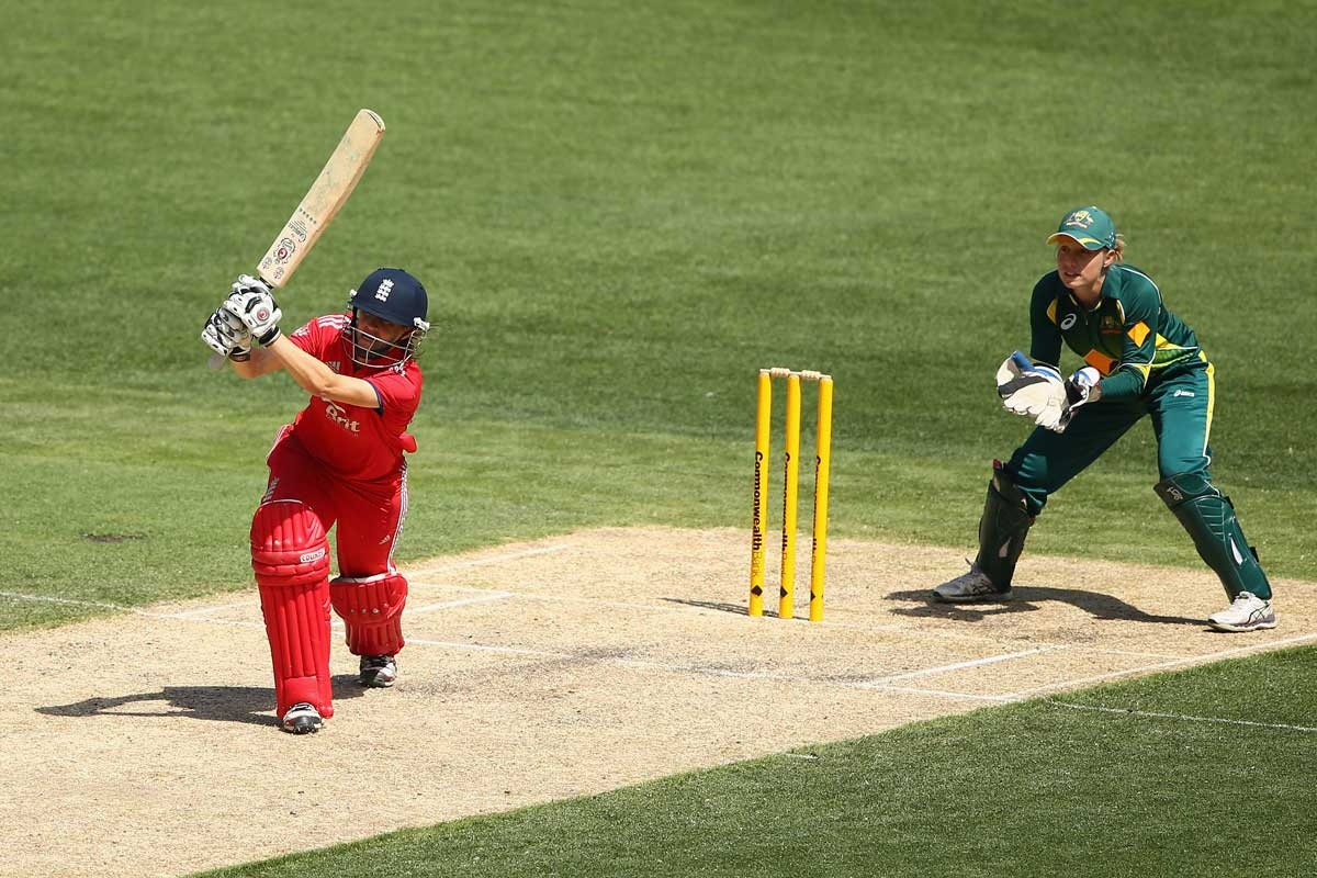 Lydia Greenway during her impressive knock at the MCG.