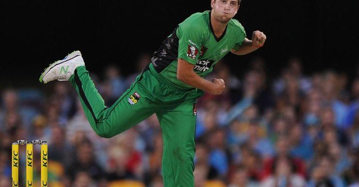 Green, but promising: James Muirhead.