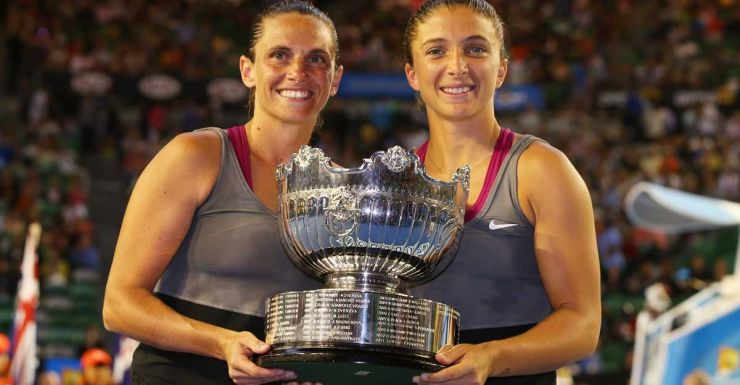Roberta Vinci and Sara Errani