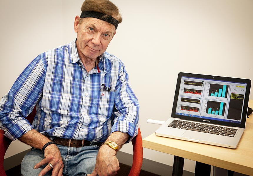 Parkinson's headband