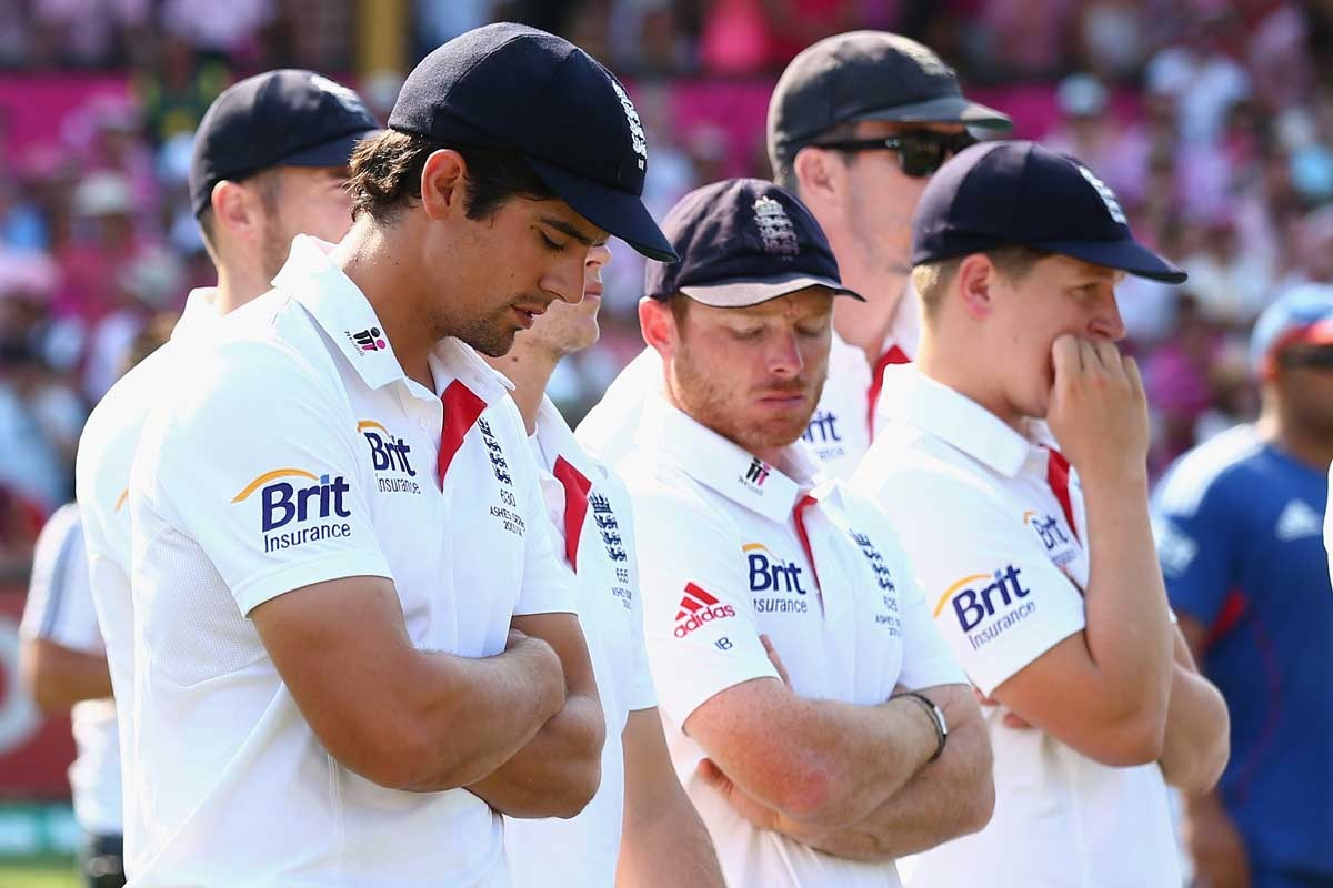Alastair Cook seemed to spend half the tour on the verge of tears.