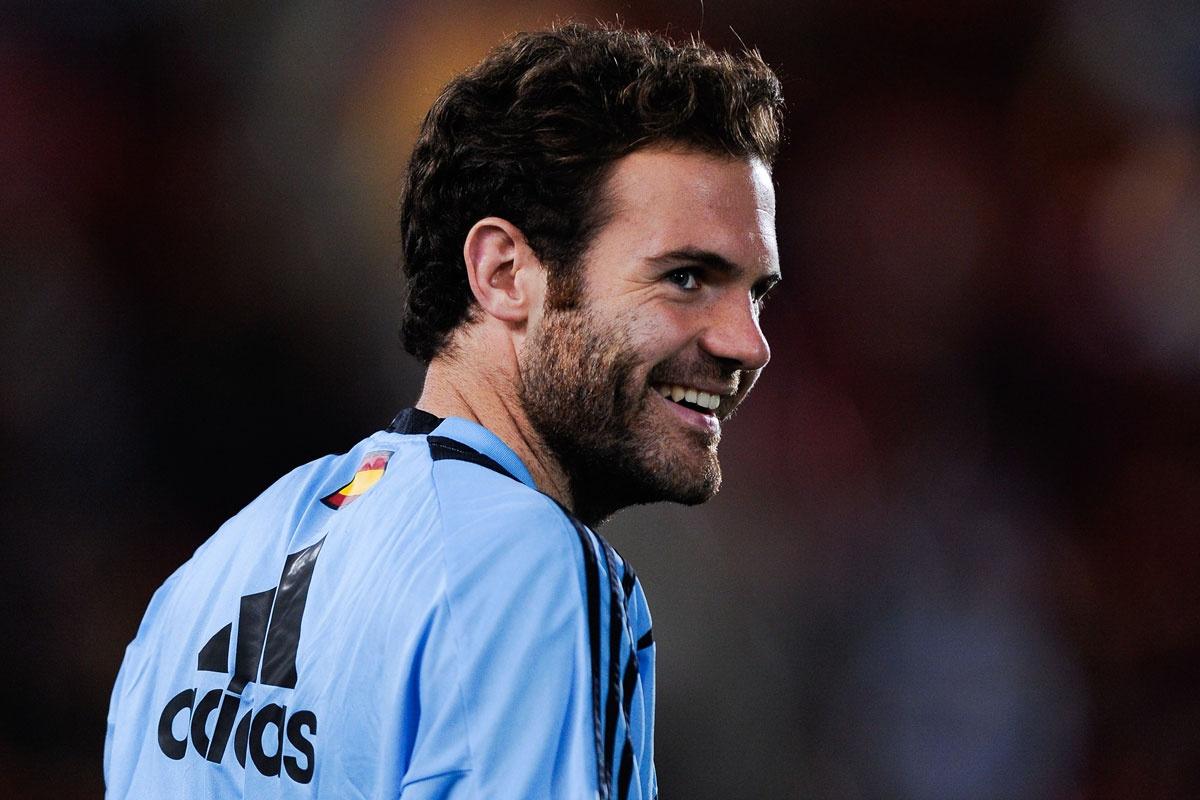 Record deal: Juan Mata.