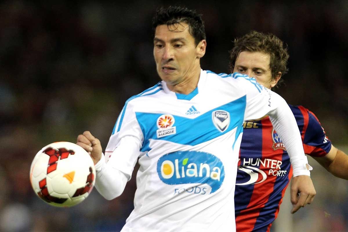 Retiring? Victory defender Pablo Contreras.