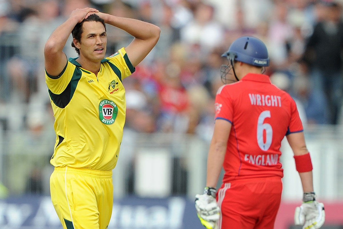 Nathan Coulter-Nile (left) and Luke Wright will be a key to the T20 series.