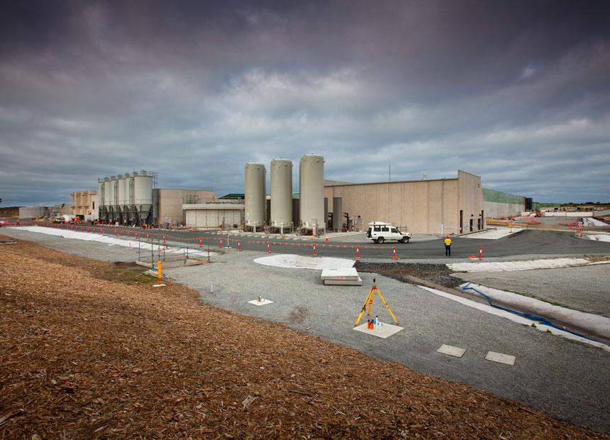 Victoria desalination plant