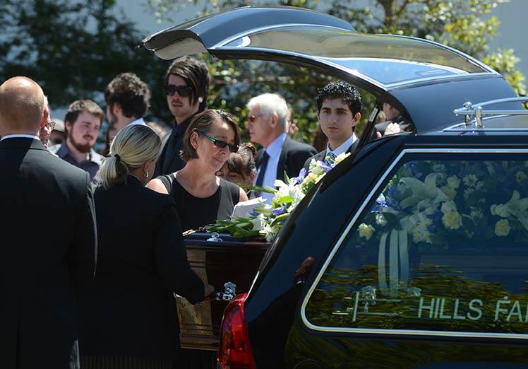 Daniel Christie funeral