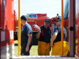 South Australian fire fighters
