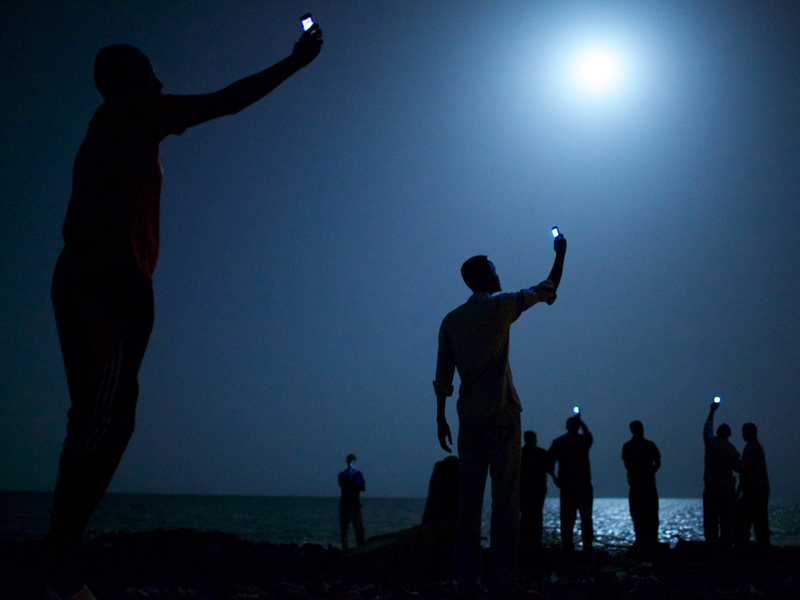 The World Press Photo of the Year 2013 by John Stanmeyer, USA.