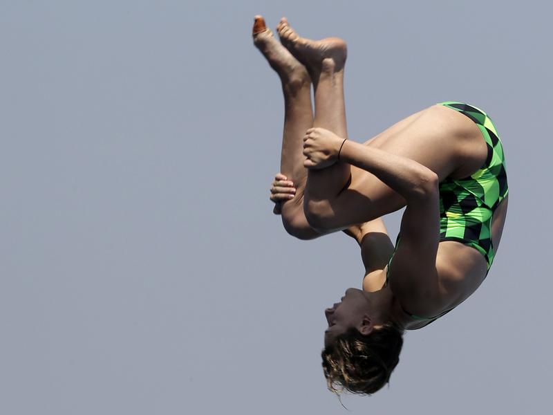 Australian teenage diver Maddison Keeney