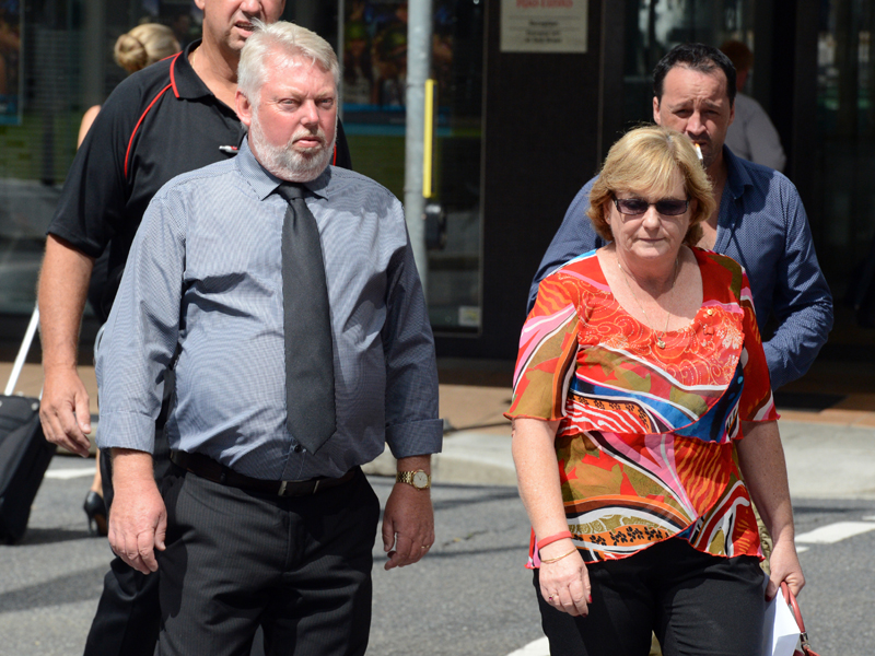The parents of Daniel Morcombe, Bruce and Denise Morcombe