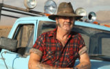 John Jarratt who plays serial killer Mick Taylor in film Wolf Creek 2