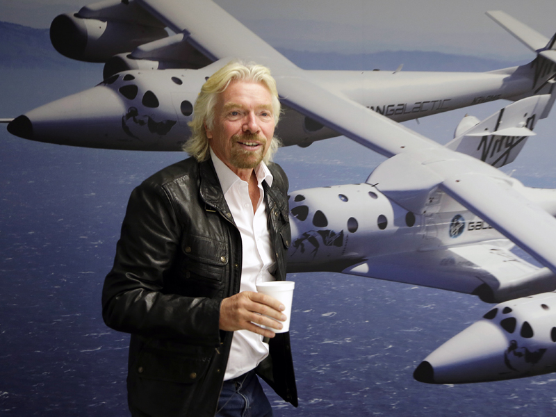 British entrepreneur Richard Branson