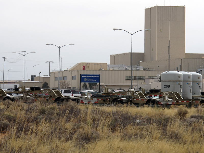 The Waste Isolation Pilot Plant in New Mexico