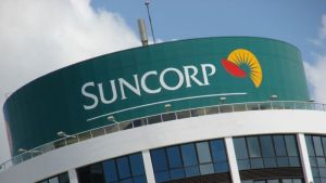 Suncorp has increased its dividend despite a fall in profit.