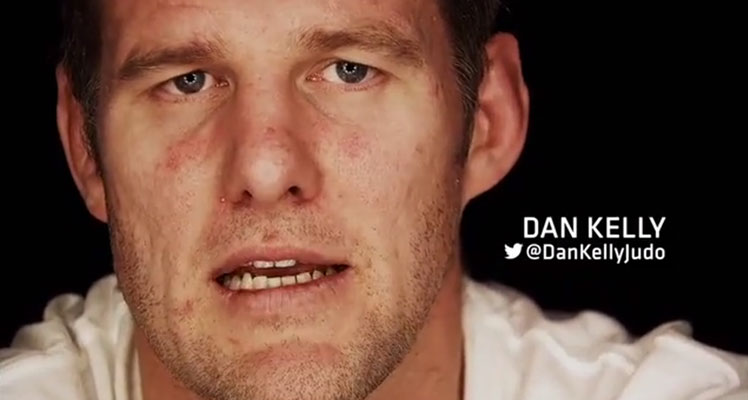 Ready to rumble ... Team Australia's four-time judo Olympian, Dan Kelly.