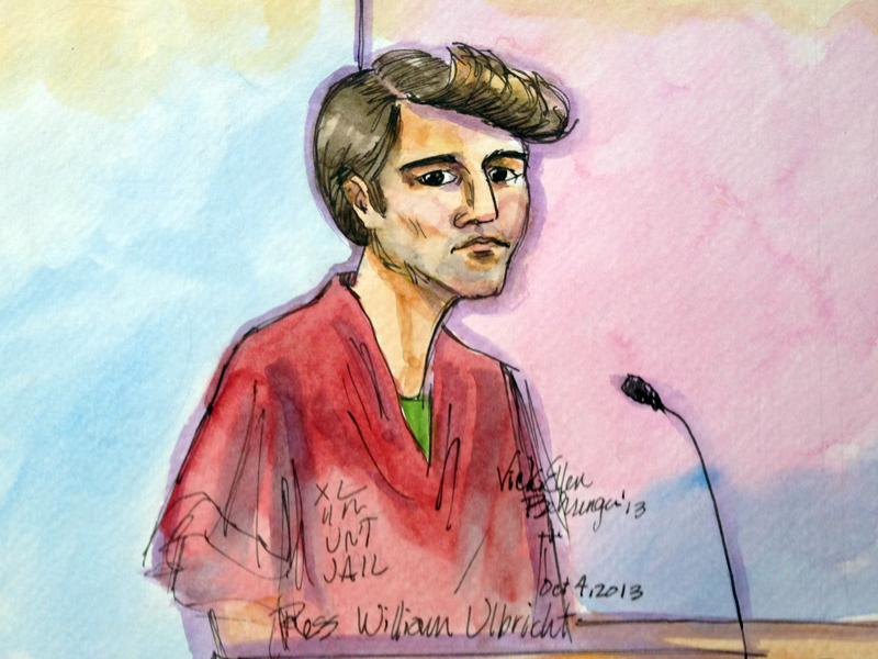 Accused Silk Road founder Ross Ulbricht