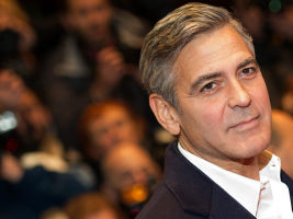 George Clooney at a red carpet event