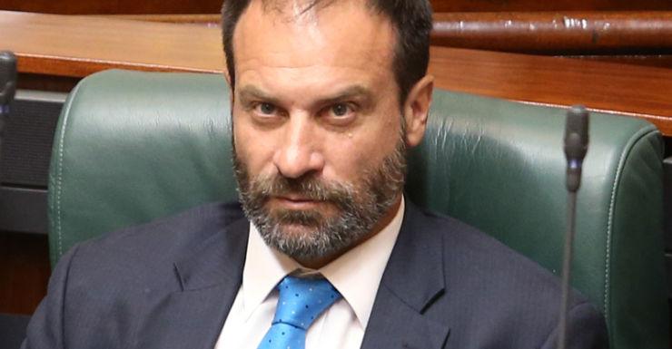 Independent MP Geoff Shaw in parliament