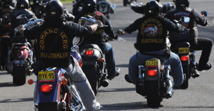 File photo of bikies