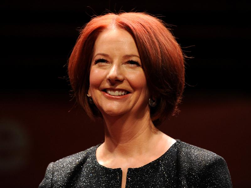 File photo of former PM Julia Gillard