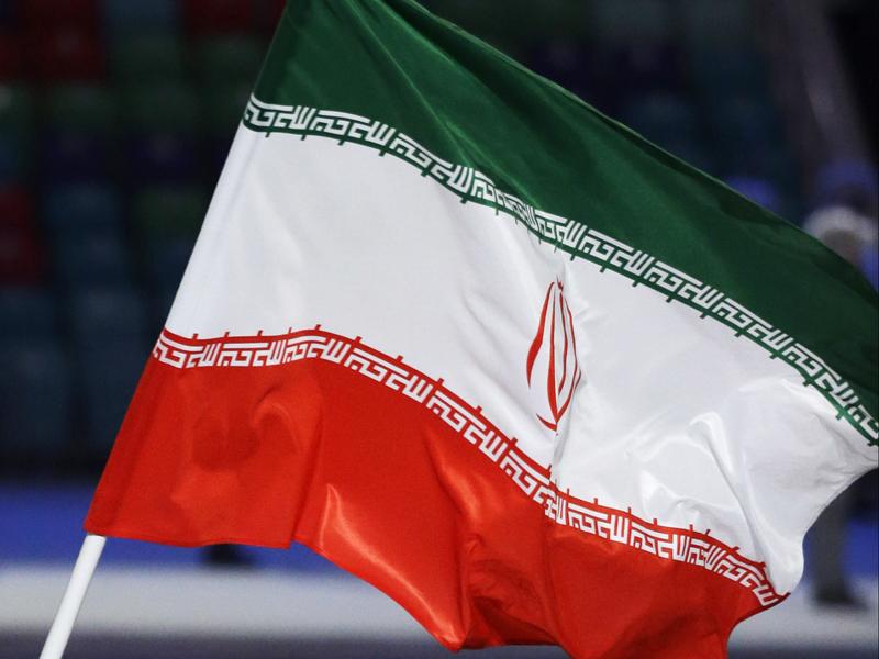 File photo of an Iranian flag