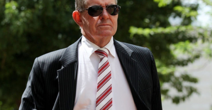 Peter Slipper arrives at court at an earlier date