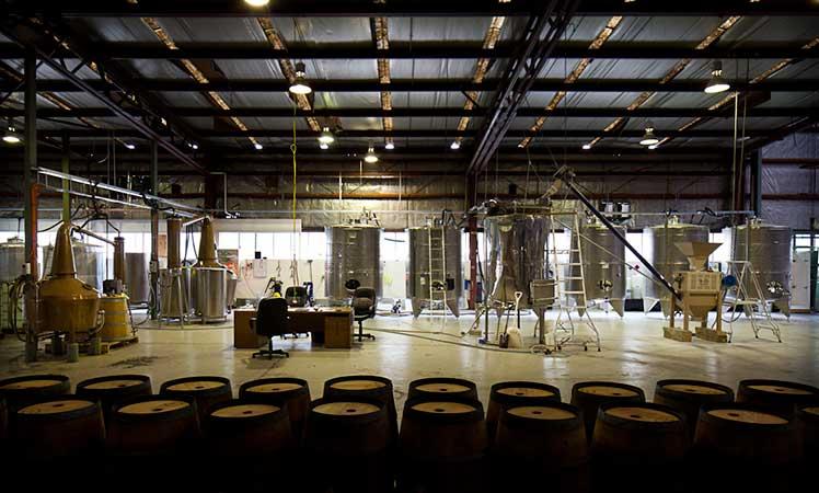 The distillery floor at Starward.