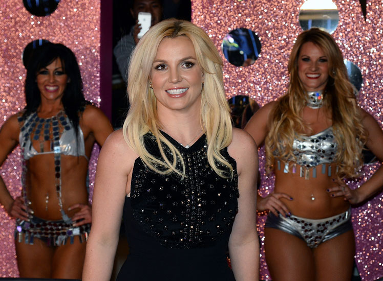 Britney Spears launches her two-year residency at Planet Hollywood.