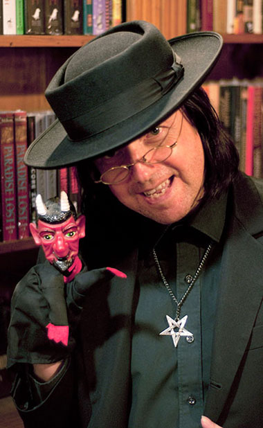 Satanist Drew Sinton