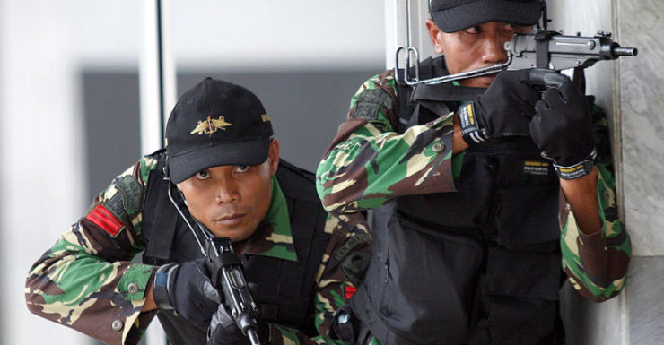 Indonesian army special forces