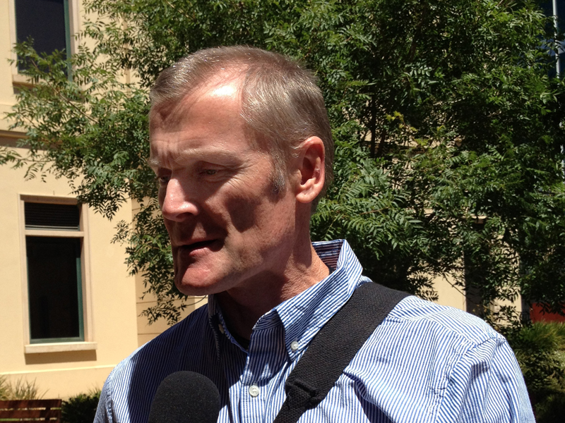 Gordon Wood leaving Adelaide supreme court