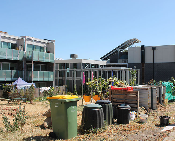 The Murundaka cohousing community in Melbourne. Source: Cheryl Critchley