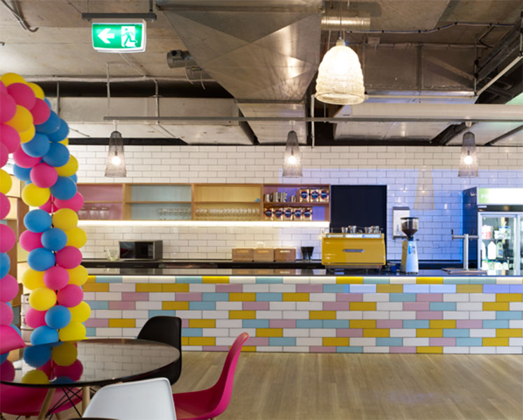 The Seek offices in Melbourne get full points for cool.