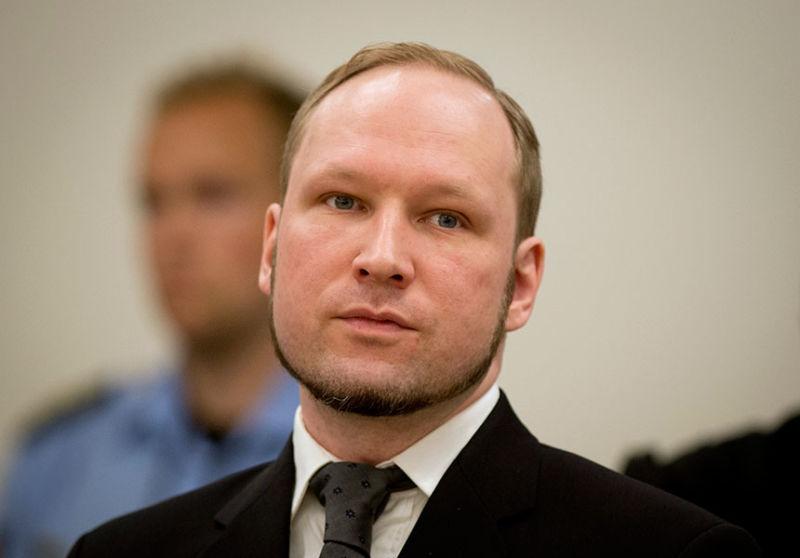 Norwegian mass murderer Anders Breivik.