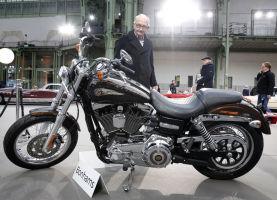 Pope's Harley