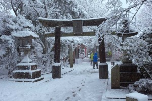 Japan blizzard