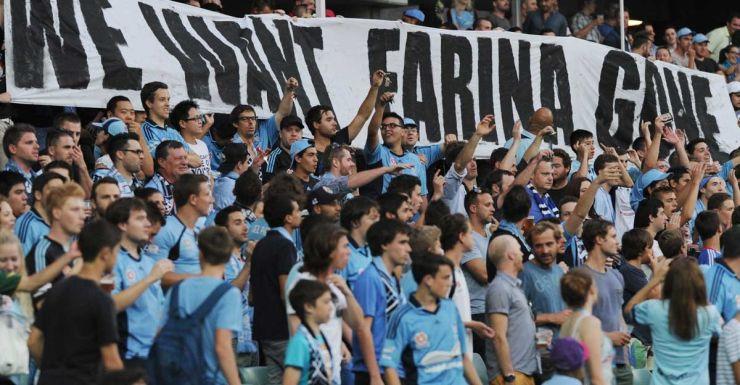 Sydney FC fans