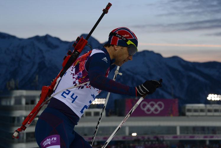 Ole Einar Bjoerndalen, the 'greatest ever Norwegian athlete'. Picture: Getty.