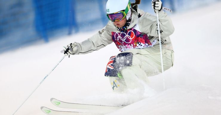 Britteny Cox shows her style in Sochi.