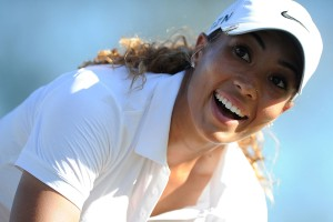 Cheyenne Woods won by two strokes.