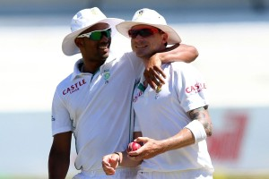 South African pair Vernon Philander and Dale Steyn will be licking their lips.