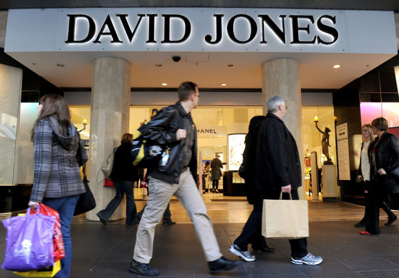 how do retailers like david jones