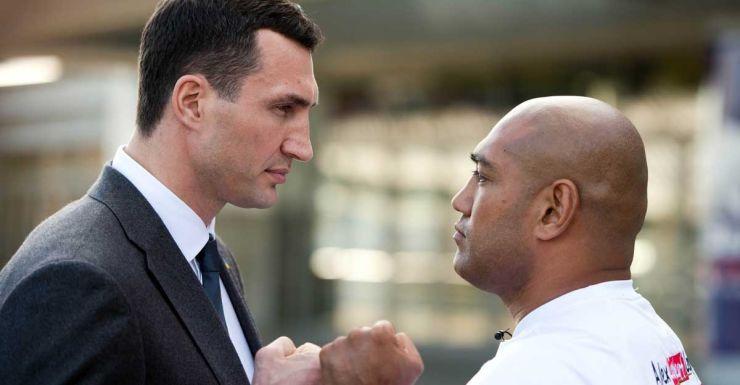 Wladimir Klitschko and Alex Leapai