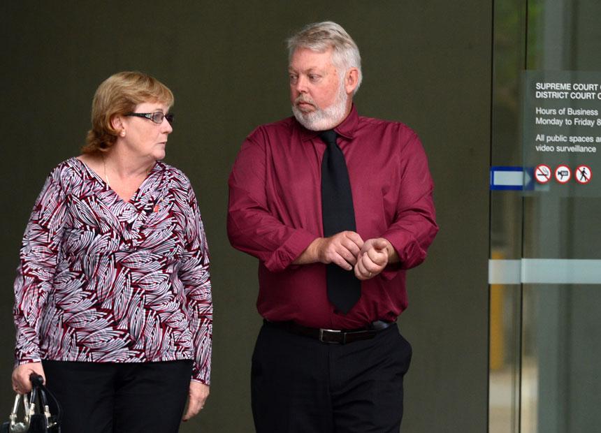 Daniel Morcombe trial.