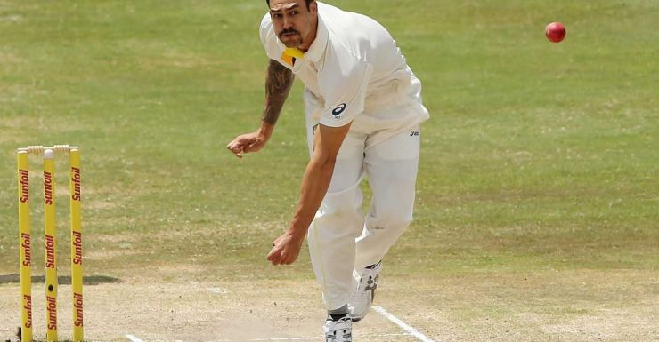 Mitchell Johnson delivers another thunderbolt.