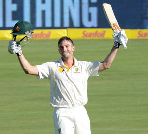 Shaun Marsh defied critics. Picture: Getty