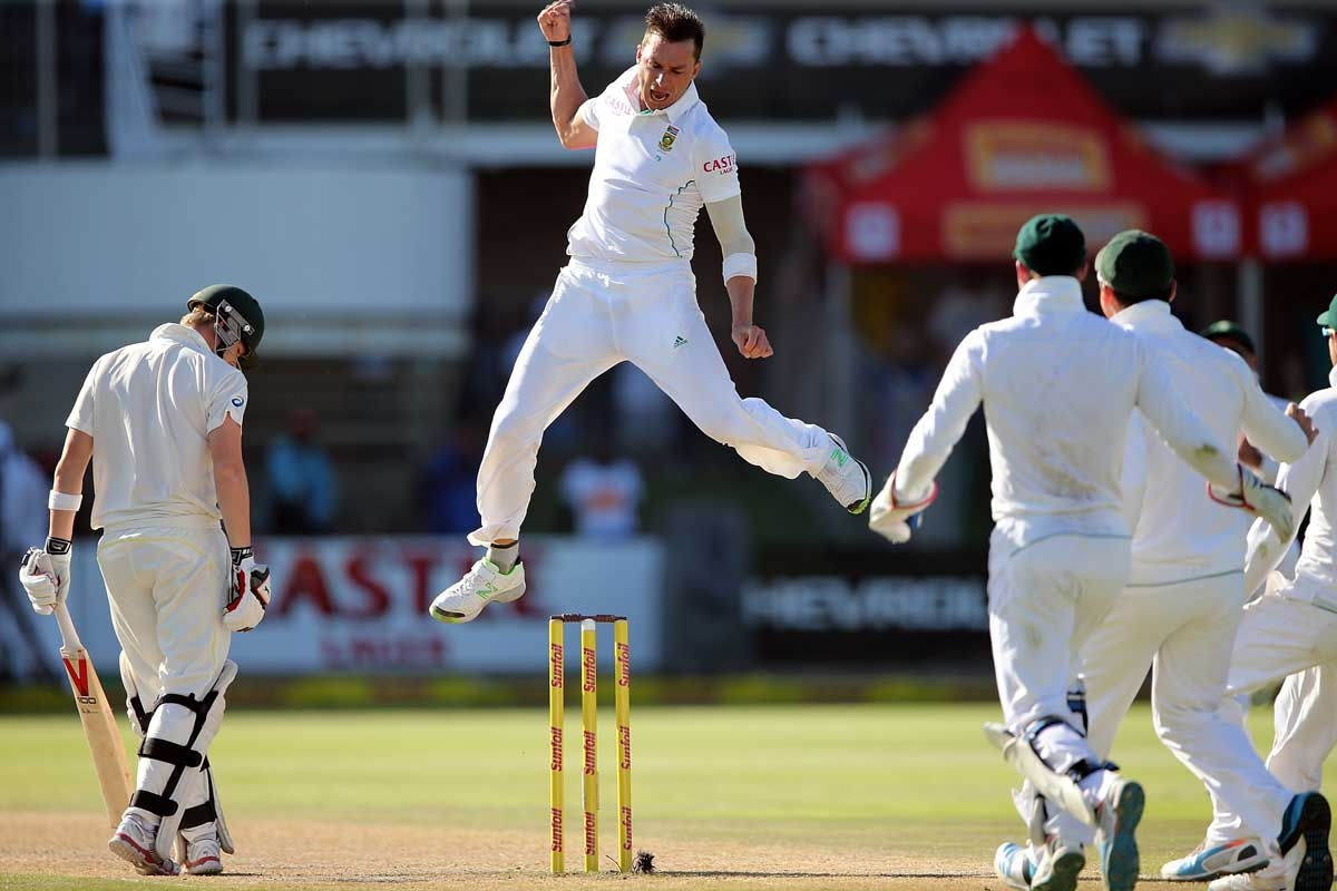 The Australians were no match for Dale Steyn's skill.