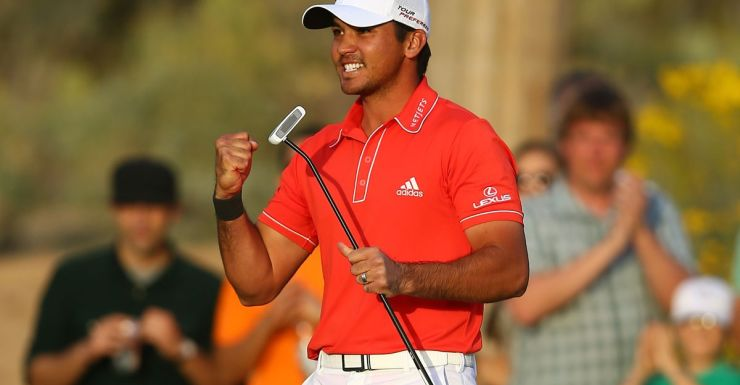 At last: Jason Day secures victory in a playoff.